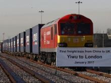 Через Россию прошел первый товарный поезд из Китая в Лондон, сэкономив на доставке 17 суток