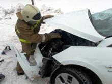 В Татарстане в столкновении двух автомобилей погибла пассажирка из Чувашии