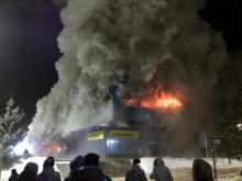 Челнинец подозревается в краже из сгоревшего в Чистополе ЦУМа после того, как сняли оцепление