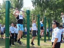 Полицейский в Набережных Челнах должен заниматься спортом раз в неделю