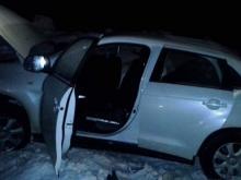В Татарстане на загородной трассе автоледи угодила в ДТП, в котором погибли два ее сына