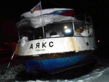 Теплоход «Аякс» угрожает чистоте воды в реке Кама. Его хозяйка - челнинка