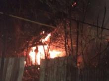 В Чистополе во время пожара в своем доме сгорели заживо мать с двумя детьми