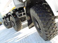 На базе 'КАМАЗа' создали вездеход, у которого управляются и передние, и задние колеса