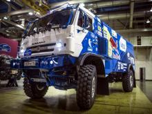 В ралли 'Шелковый путь' примет участие новый бескапотный грузовик 'КАМАЗ-мастера'