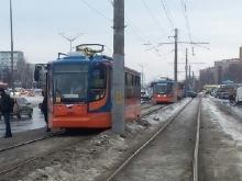 Энергетики чинят кабель, из-за которого 22-го февраля возникли перебои в движении трамваев