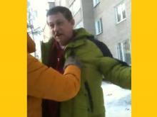 Потасовка на входе в 'Союз художников' в Набережных Челнах (видео)