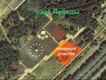 Александру Ткачеву вместо детского центра в парке Победы разрешили поставить «пизанскую башню»