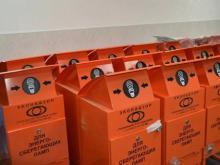 Исполком заказал еще 40 контейнеров для сбора ртутьсодержащих отходов за 2.24 млн. рублей
