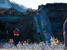 В Башкирии столкнулись два грузовых поезда - погибли три машиниста