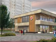 Заказчики строительства кафе «Бургер Кинг» договорились с соседями по 9-му комплексу