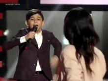 Челнинец Нурлан Исмаилов не прошел этап поединков на шоу 'Голос. Дети' (видео)