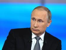 Задать вопрос Владимиру Путину можно в июне. Прямая линия с президентом отодвинута на лето