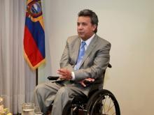 Ленин на инвалидной коляске побеждает на выборах президента Эквадора