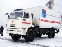 Скорая помощь на шасси КАМАЗ прошла испытания, проехав от Магадана 1370 километров