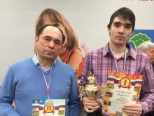 Сильнейшие шахматисты Набережных Челнов: Руслан Габитов, Ленар Мурзин и Зарина Шафигуллина