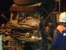 На автотрассе М-7 в Зеленодольском районе в столкновении с фурой погиб водитель 'Газели'
