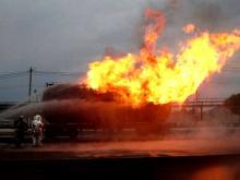 За отвагу на пожаре в поселке Круглое поле челнинские огнеборцы награждены медалями