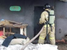 71-летний челнинец отравился угарным газом во время пожара в ГСК «КАМАЗ»