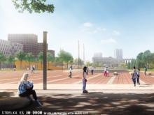 На площади Азатлык в Набережных Челнах появятся памятники первопроходцам и Хасану Туфану