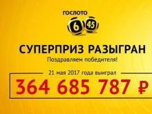Житель Сочи выиграл в лотерею 364 685 787 рублей, заплатив за билет семь сотен