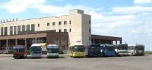 Автобус идёт в парк