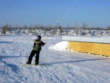На сноуборде, лыжах и 'ватрушке'