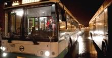 Автобусы на Рождество
