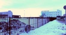Автовокзал за забором
