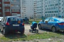 Реальные пацаны учатся парковаться с детства. (Алина Байрамова)