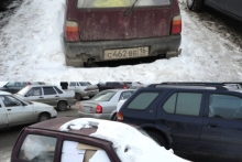 Вторая жизнь народного автомобиля. Фото «мусорного контейнера» на базе ВАЗ-1111 «Ока» сделано в 45 к