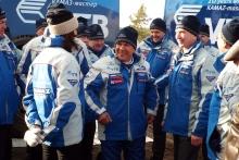 Рустам Минниханов проводил 'КАМАЗ-мастер' на 'Дакар-2017' и протестировал гоночный 'КАМАЗ'